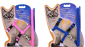 2 arnés para mascotas ajustables para gatos con forma de conejos de ...
