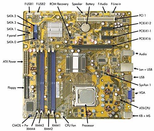 462797-001 HP Compaq Motherboard Dx2400 G33 Ipibl-Lb Intel Desktop S775 459163-0