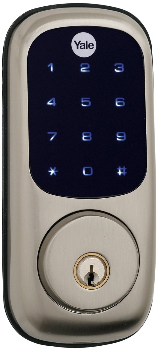 Yale Real Living Keyless Touchscreen Deadbolt with Z-Wave