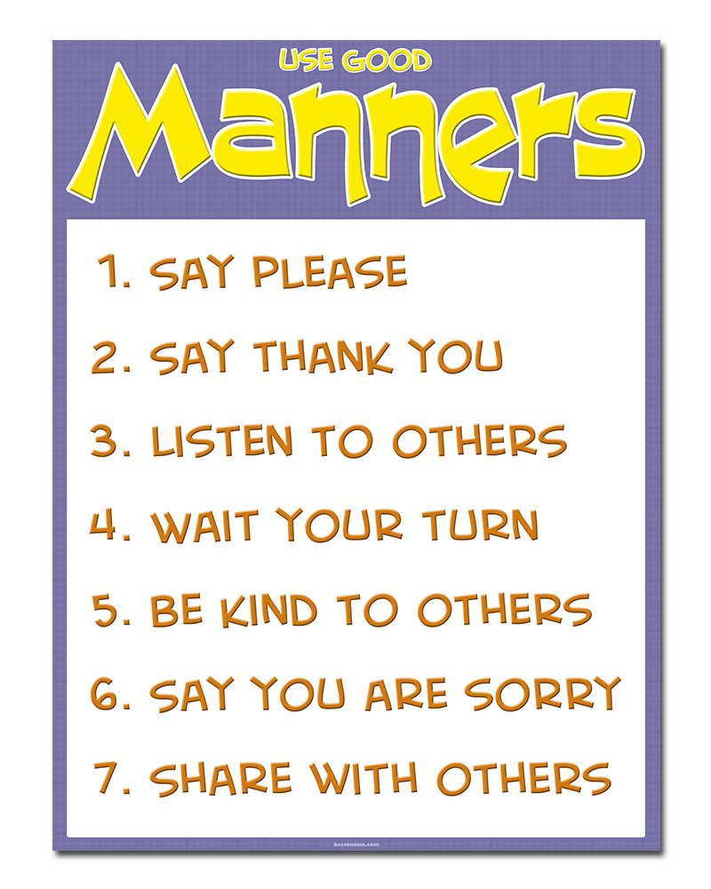 Essay on etiquette and manners