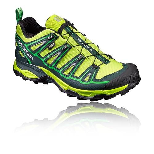 Salomon X Ultra 2 GTX, Zapatillas de Deporte Exterior para Hombre, Verde (Lime Punch./Scarab/Classic Green), 40 2/3 EU: Amazon.es: Zapatos y complementos