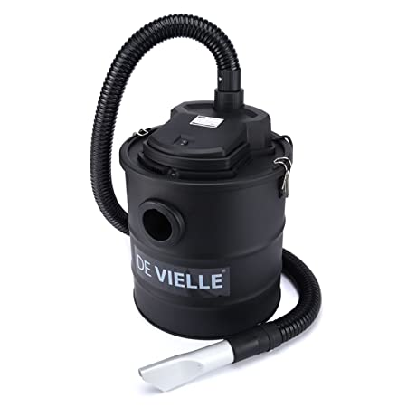 Ash Vacuum Cleaner Hoover For Fireplace Wood Burner 20L 1200W By De Vielle