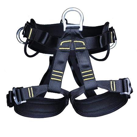 Ccsluo Arnés de Escalada, Cinturones de Seguridad para Medio ...