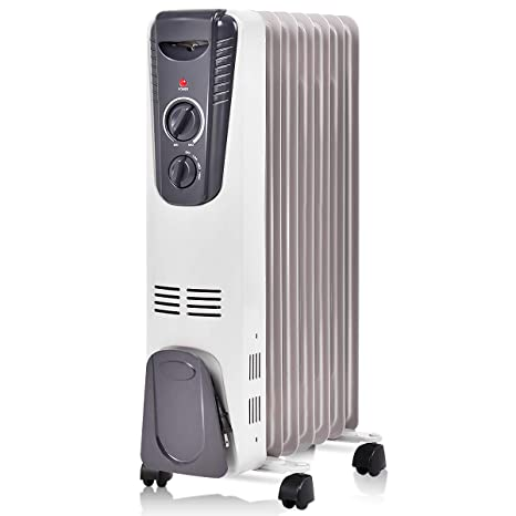 Amazon.com: Radiador eléctrico de aceite Tangkula ...