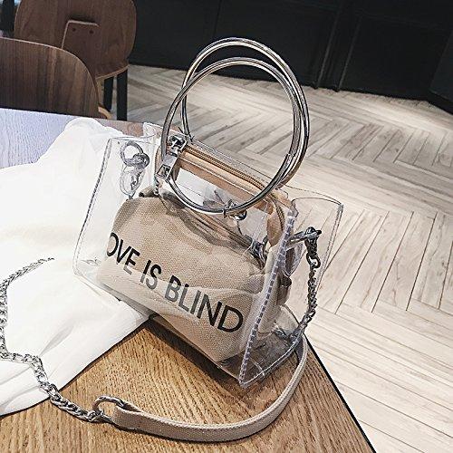 Handbag Summer Version 2018 New Of Fashion Wave Khaki Korean 6wf0P1fv