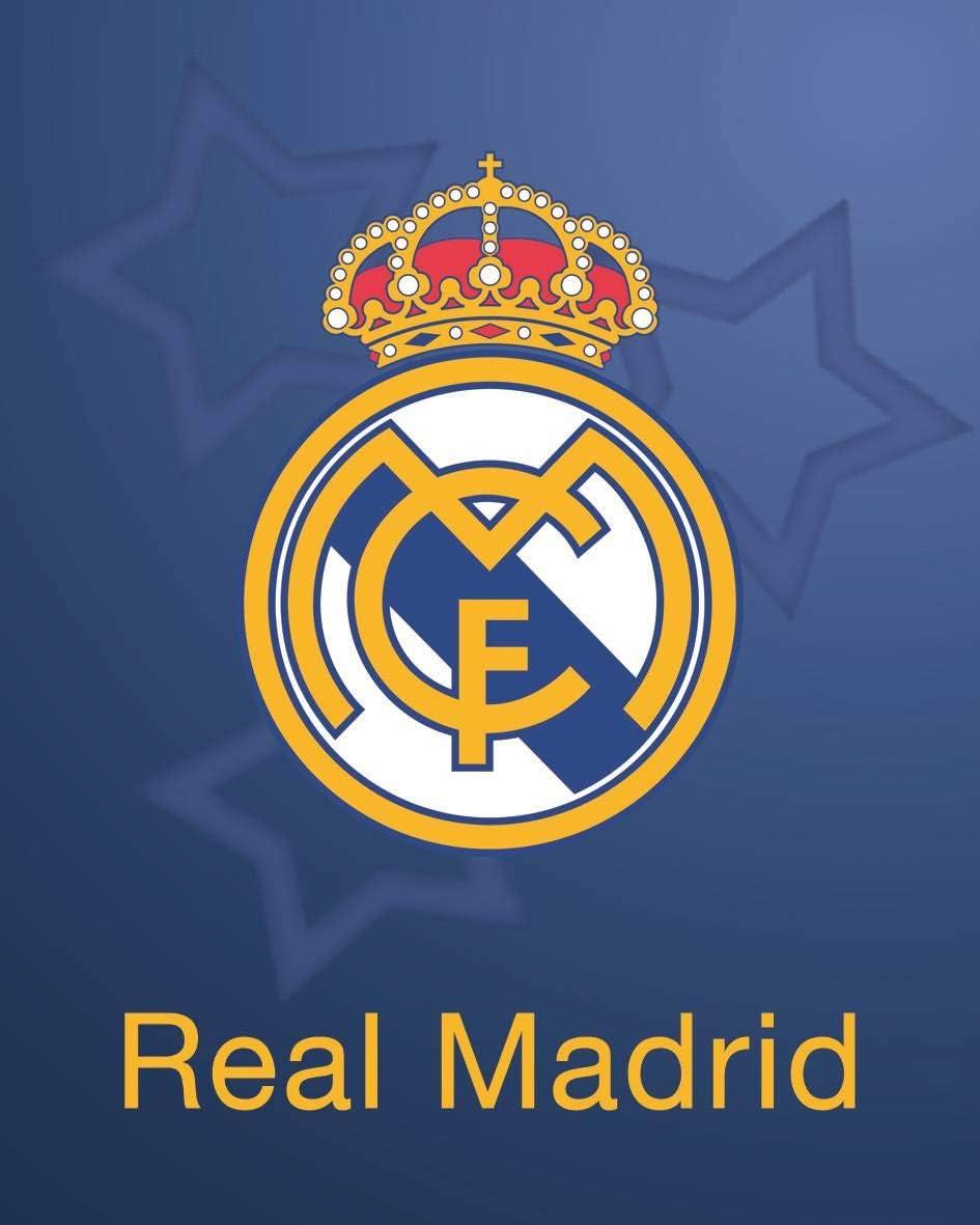 Asditex Manta Rachel Real Madrid 160x240 - Manta para Cama de 90 cm - Estampado Fondo Azul de la Champions con el Escudo del Madrid: Amazon.es: Hogar