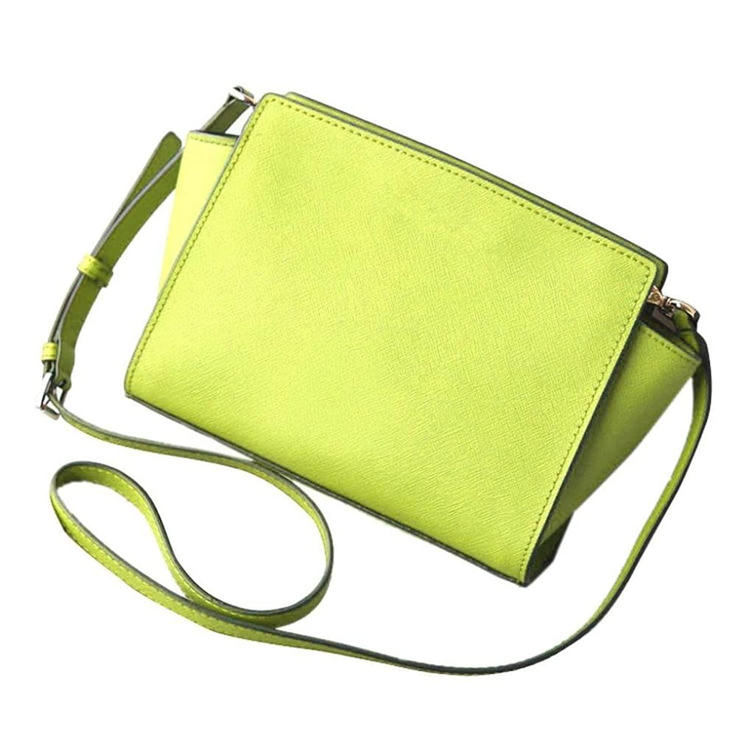 Generic Women PU Leather Solid Shoulder Bag