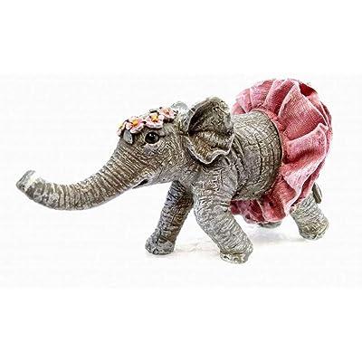 Miniature Fairy Garden Elouise The Elephant : Garden & Outdoor