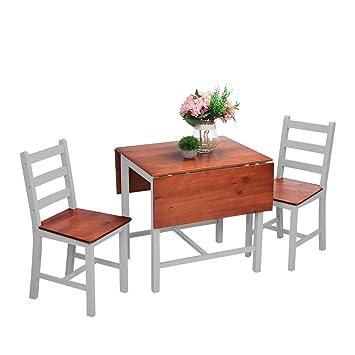 shougui trade Juego de sillas de Mesa de Comedor de Cocina ...