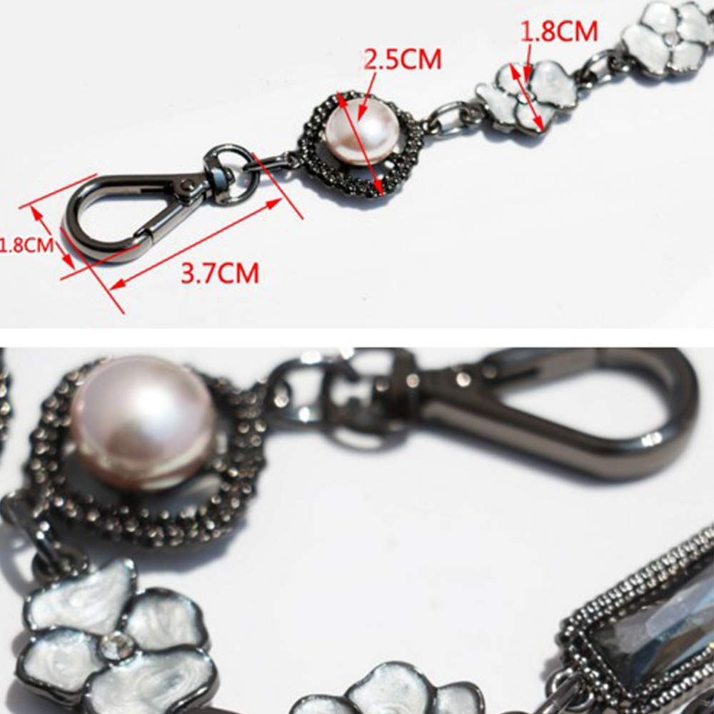 Length 49'' Metal Chain for Messenger Bags Replacement Purse Chain/Chain Strap/Chain Purse Strap/Purse Chain Straps DIY by FAU DIY BAG CHAIN (Image #2)