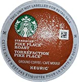 Starbucks Pike Place Roast Coffee Keurig K-Cups, 24 Count (Pack of 4)