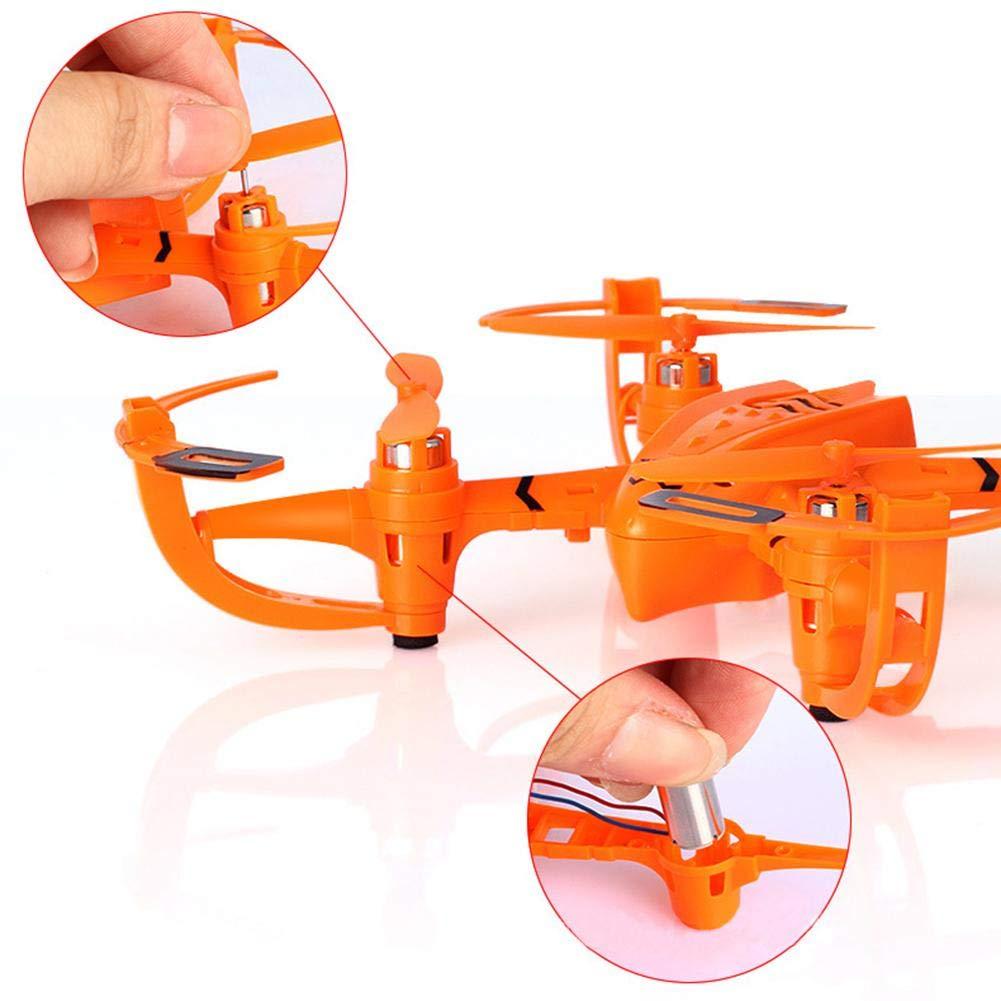 Ablerfly Bambini Mini Drone, Assemblato Telecomando Giocattolo di aeromobili Puzzle DIY Hands-On a Quattro Assi Aircraft Modello di Navigazione Drone