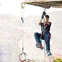 Escalar Ascender Eslinga Ajustable Foot Loop Ascender