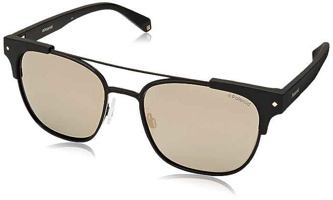 Polaroid Sonnenbrille » PLD 6039/S/X«, schwarz, 003/LM - schwarz/ gold