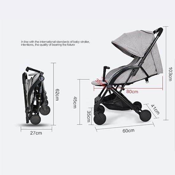 Amazon.com: LZTET Baby Stroller Ultra-Light Portable Folding Baby ...