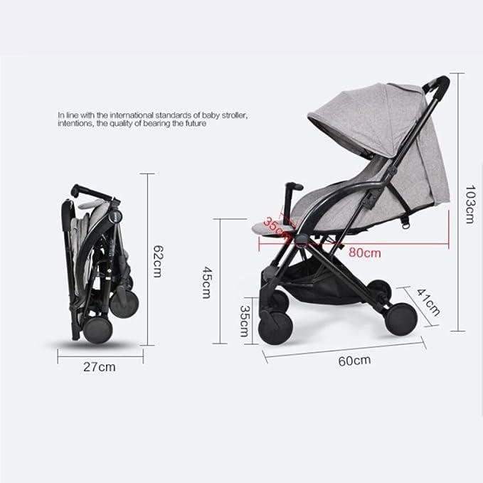 Amazon.com: QXMEI Baby Stroller Ultra-Light Portable Folding Baby ...