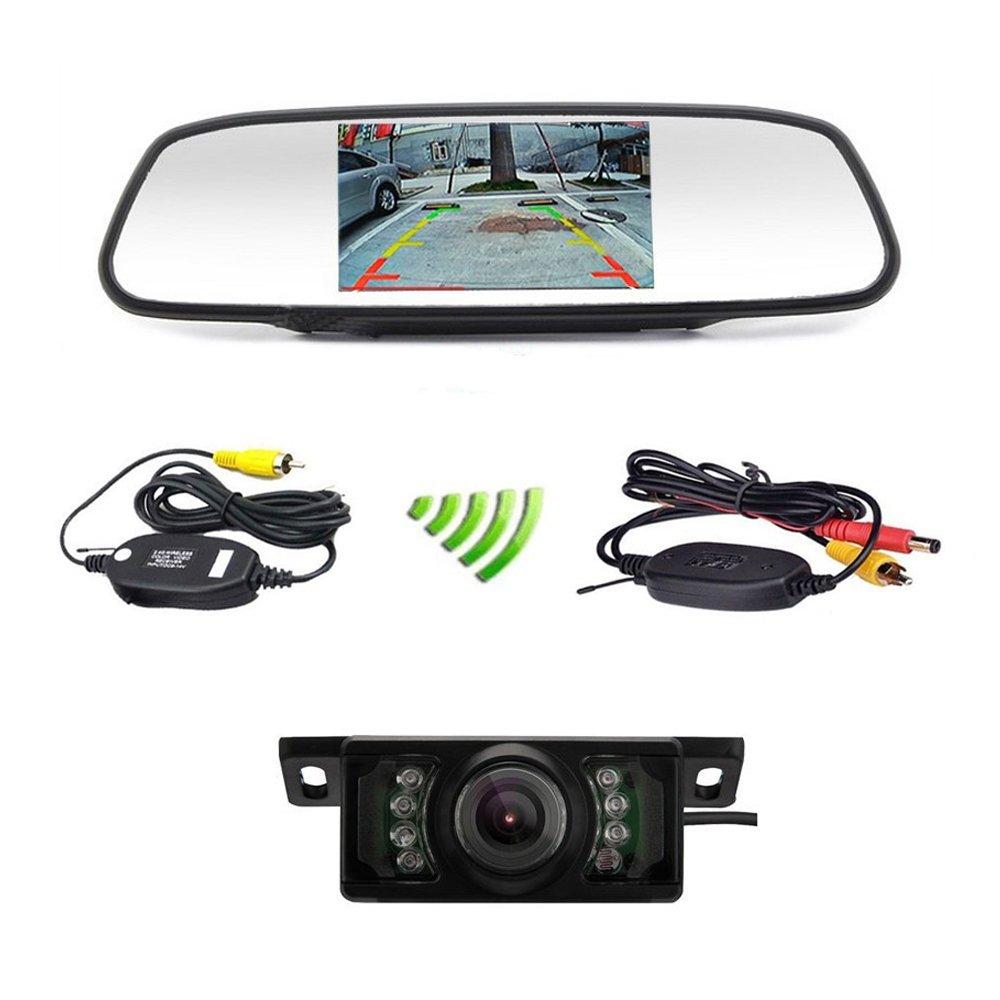 Podofo Videocamera posteriore da auto, wireless, per avere una veduta del retro della macchina K003605