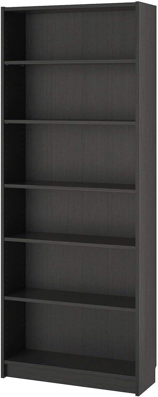 Ikea Billy - Estantería (80 x 28 x 202 cm), color marrón y ...