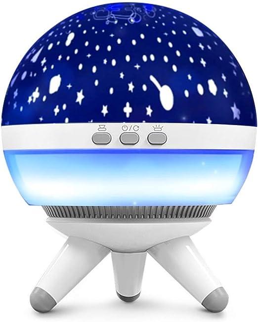 Luces de Noche para Niños Lámpara de Proyector LED Luz del Sueño ...