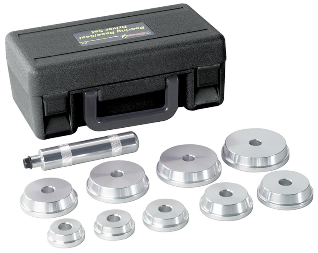 OTC 4507 Bearing Race and Seal Driver Set - 10 Piece