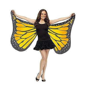 Las mujeres chal Sonnena 147 * 70 cm de mariposa alas hada), Señoras Niñas