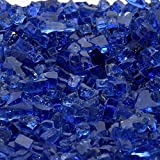 1/4'' Royal Blue / Cobalt Blue Fireglass 10 Pound Bag