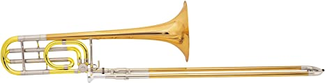 Conn 88H Symphony Series F Attachment Trombone Lacquer Rose Brass Bell