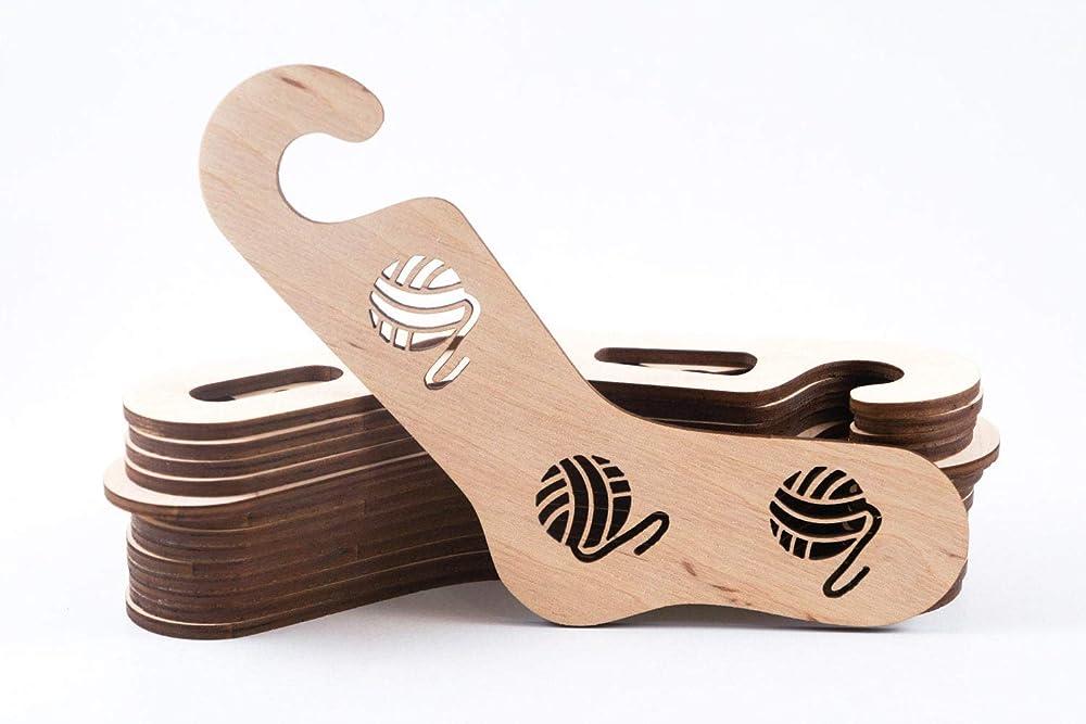 pair Wooden sock blockers