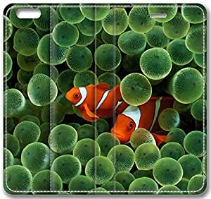 Animals Two Clown Fish Case for iPhone 6 Plus 5.5 inch(Compatible with Verizon,AT&T,Sprint,T-mobile,Unlocked,Internatinal) in GUO Shop