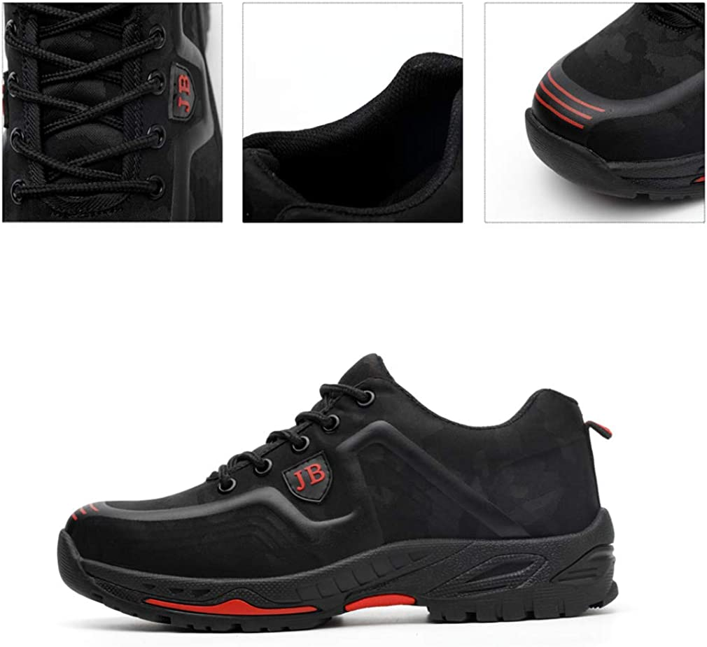 Basket de Securite Chaussures de Travail avec Embout de Protection en Acier Respirables Noir Camo 36-48 Anokar Chaussure de Securit/é Homme