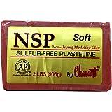 Chavant NSP SOFT 2lbs. Oil Based Sulfur-Free Sculpting Clay