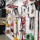 Proslat 88102 Heavy Duty PVC Slatwall Garage