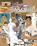 Legends of Baseball: Coloring, Activity and Stats Book for Adults and Kids: featuring: Babe Ruth, Jackie Robinson, Joe…
