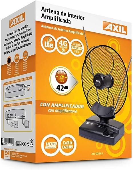 Engel Antena Interior Amplificada + Filtro LTE: Amazon.es ...