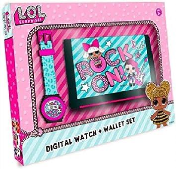 LOL SURPRISE Set Reloj Digital y Billetera en Caja (DI2207LOL) 1: Amazon.es: Juguetes y juegos