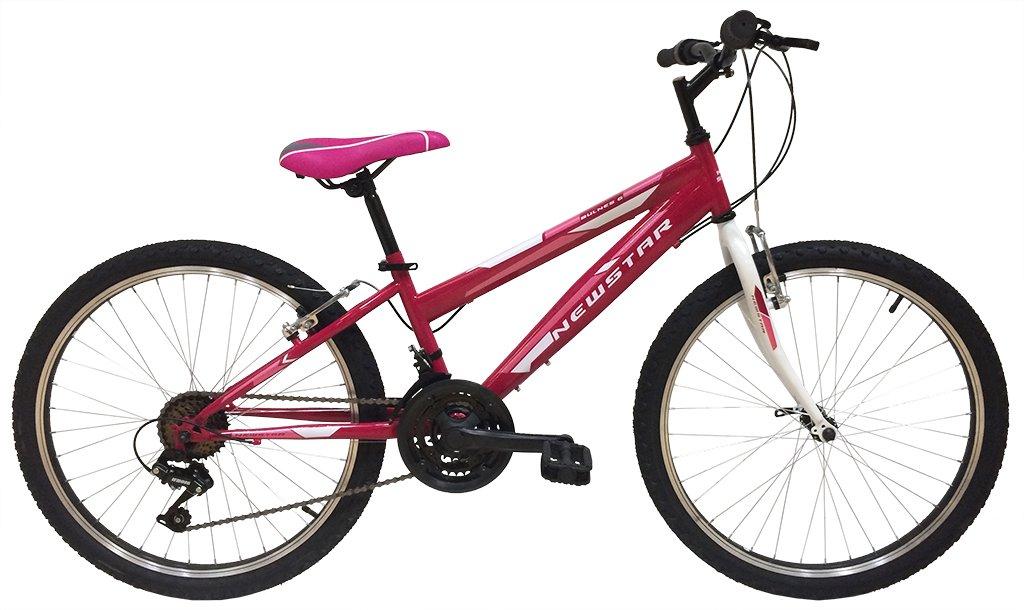 New Star 80EM001A - Bicicleta BTT 24 para niña Deportica