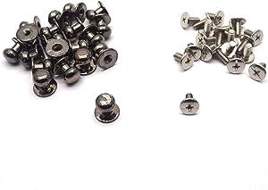 Tulead Mini Drawer Pulls Box Knob 20PCS Cabinet Knobs Metal Dresser Knobs Door Handle 0.39