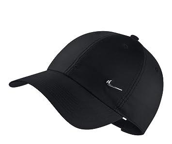 2a3f835f8e035 Nike 943092-010 Casquette de Baseball Mixte, Noir (Black/Metallic Silver 010