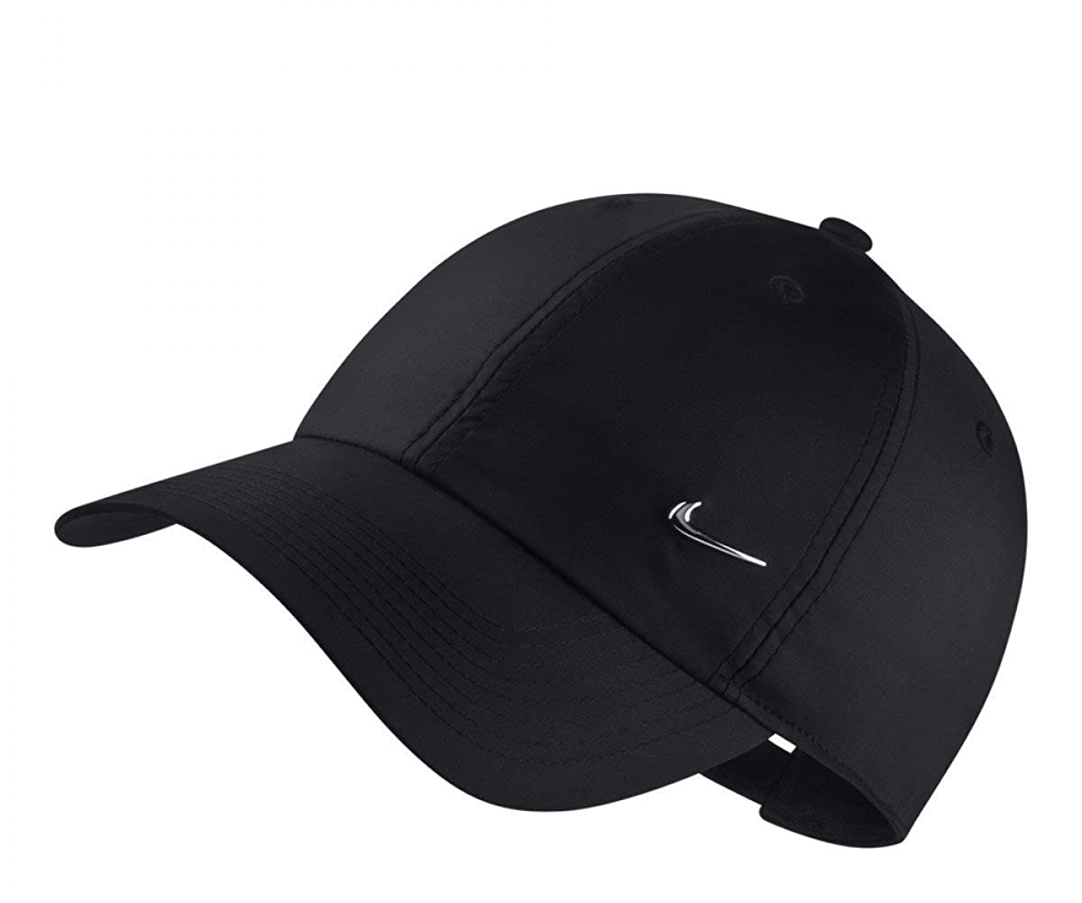 Amazon.com: NIKE Unisex Sportswear Heritage86 Cap (Black, One Size): Sports & Outdoors