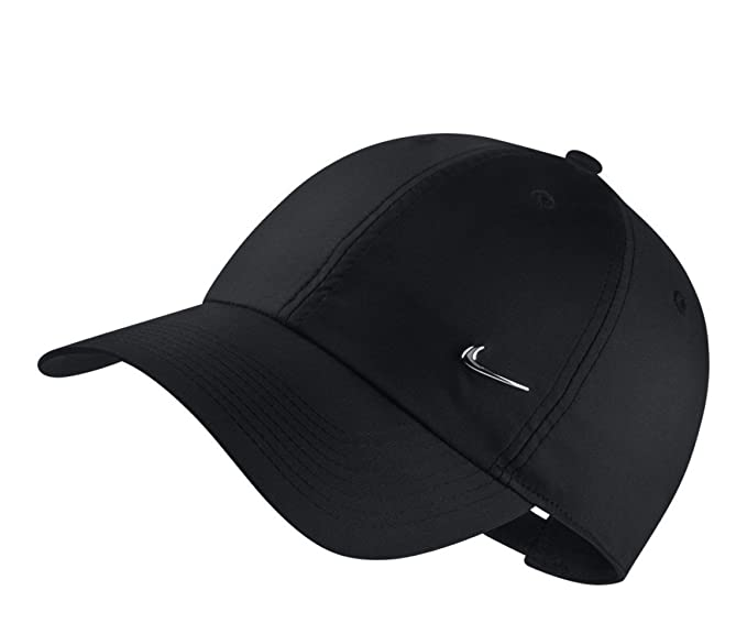 NIKE Unisex Sportswear Heritage86 Cap (Black, One Size)