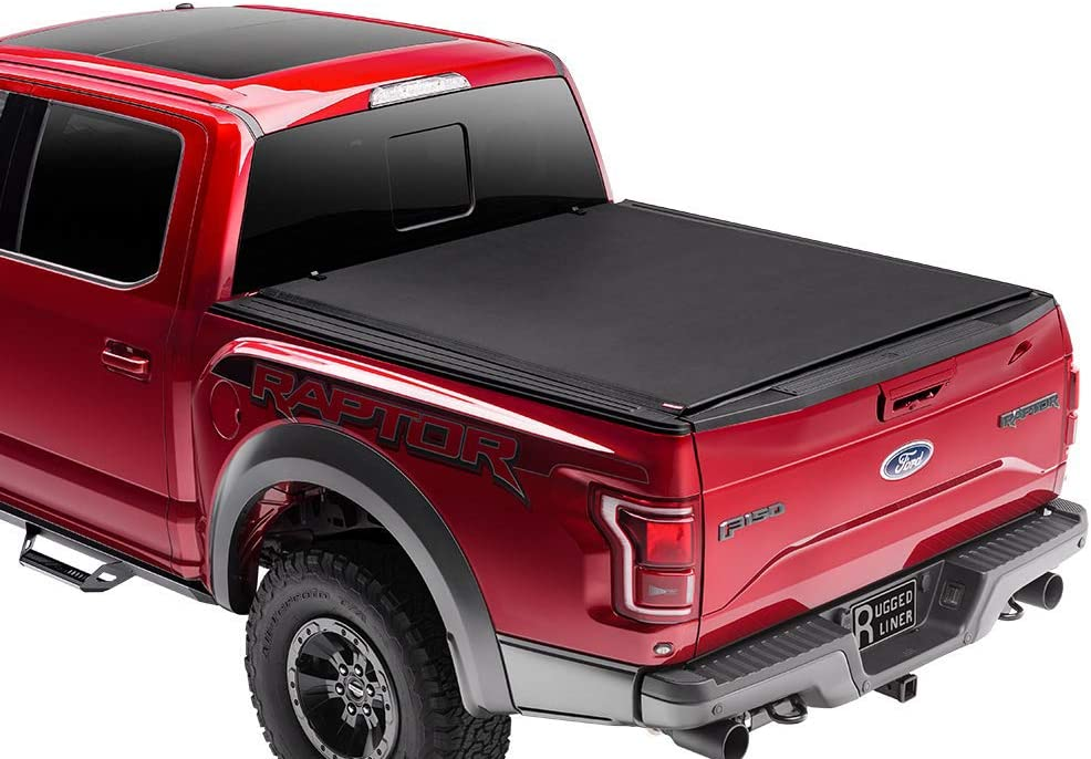 """Rugged Liner Premium Rollup Truck Bed Tonneau Cover 
