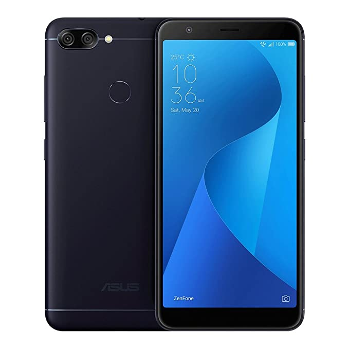 ASUS ZenFone Max Plus (M1) ZB570TL 3GB / 32GB 5.7-inches Dual SIM Factory Unlocked - International Stock No Warranty (Deepsea Black)