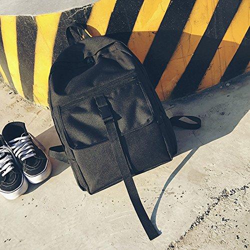 BAGEHUA für Männer und Frauen Mode Rucksack Solid Farbe Travel Rucksack Schule Wind wasserdicht Student Taschen 14 Zoll Laptop Rucksack (Höhe 41 cm Breite 32 cm Dicke 12 cm)