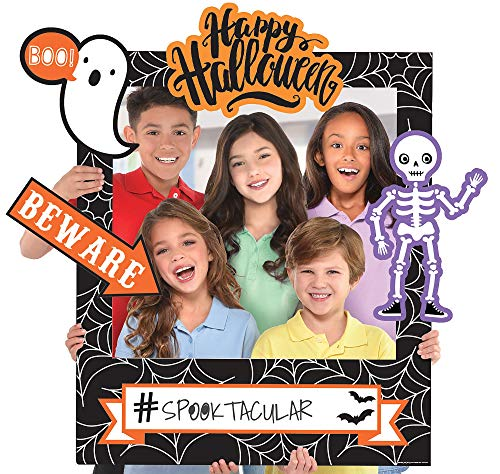 Halloween Customizable Giant Photo Frame, Spooky Mummies Ghosts