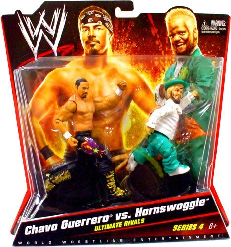 WWE Chavo Guerrero vs Hornswoggle Figures -