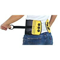 BaxMAX Lumbar Support Belt with Compound Pulley System - Made of Lightweight & Breathable...