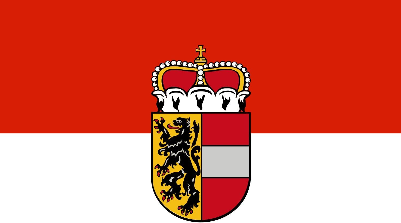 20x30cm f/ür Flags Autofahnen DIPLOMAT Flagge Salzburg 0.06m/² Querformat Fahne