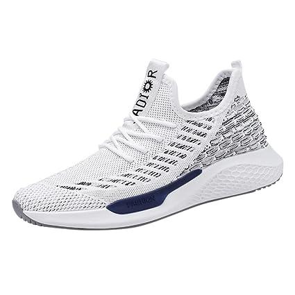 SHE.White - Zapatillas de correr para hombre y mujer, zapatillas ...