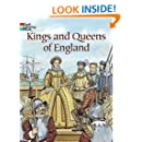 Kings and Queens of England (Dover History Coloring Book)