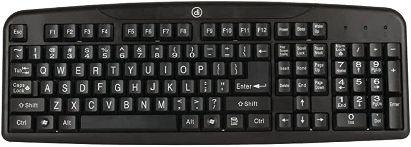 Easy-View Keyboard